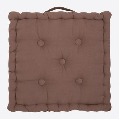 Box Cushion - Basic marron