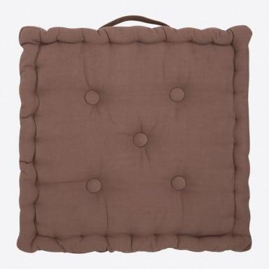 Box Cushion - Basic marron