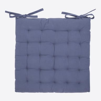 Cojín silla - Basic azul
