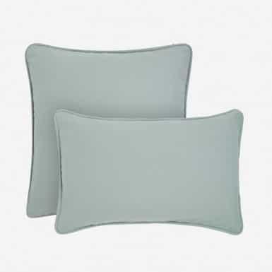 Funda de coixí - Basic verdoso