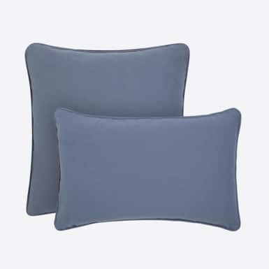 Funda de coixí - Basic azul