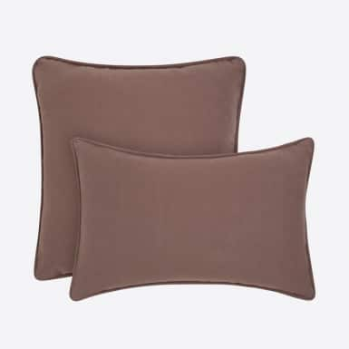 Funda de cojín - Basic marron