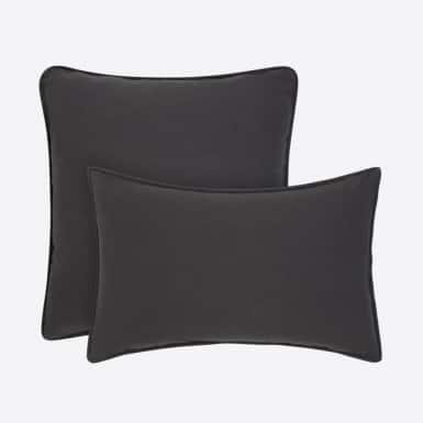 Funda de coixí - Basic negro