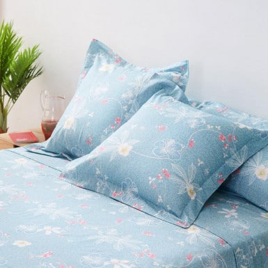 Cotton Sheet Set 3 pcs - Canna