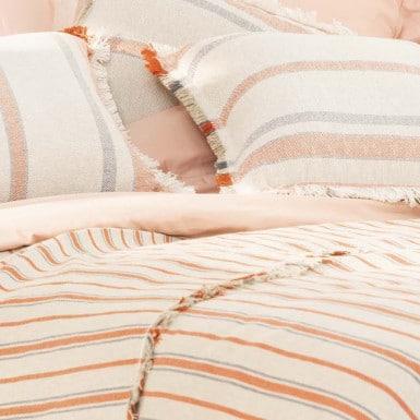 Foulard - Flecos color naranja