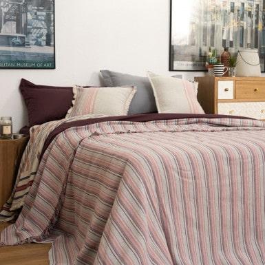 Bedspread - Flecos uva