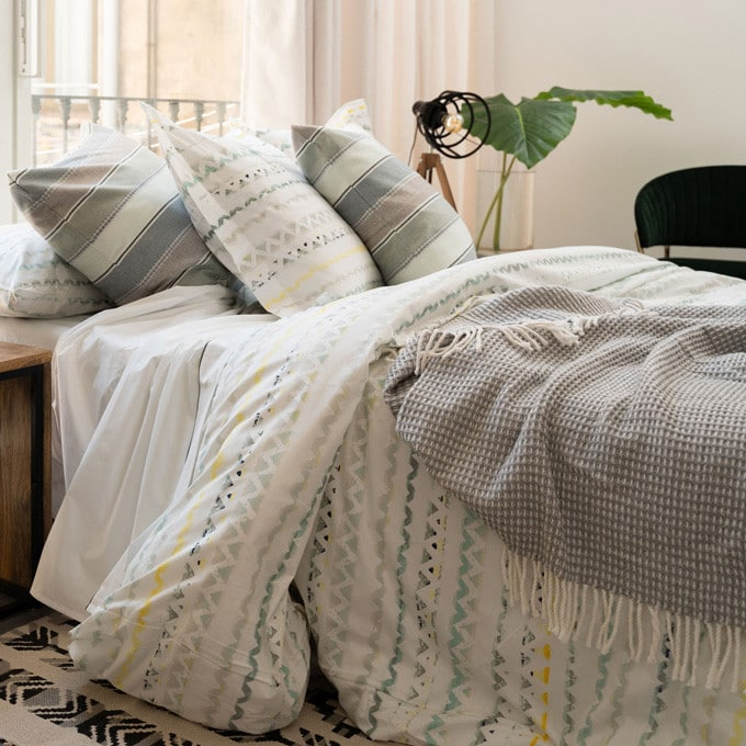 Cotton Duvet Cover Set 2 Pcs Argos, Queen Size Bed Sheets Argos