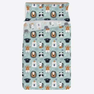 Sheets set 2 pcs - Animals
