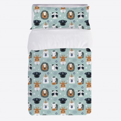 Duvet cover set 2pcs - Animals