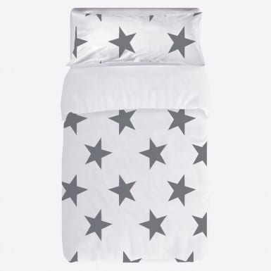 Joc funda nòrdica 2 pcs - Star