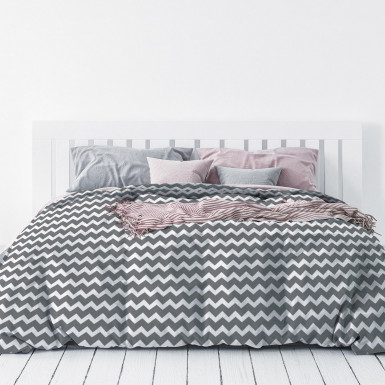 Duvet cover set 2pcs - Zig Zag