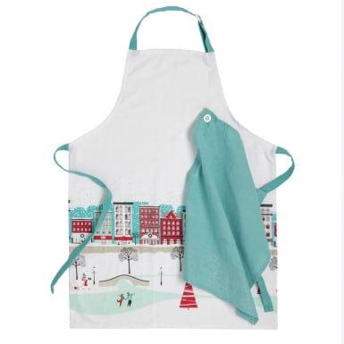 Set apron y kitchen towel -...