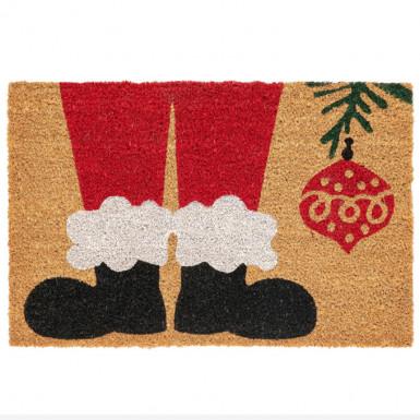 Door mat - Santa Claus shoes