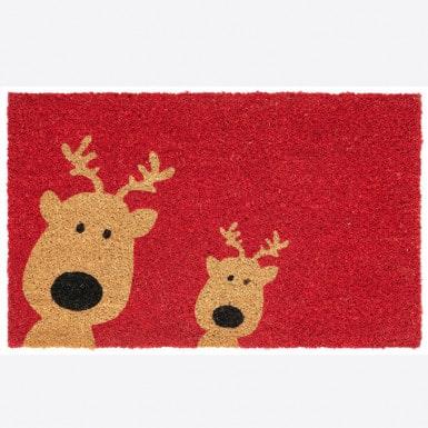 Door mat - Reindeer