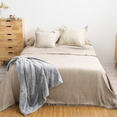 Bedspread - Flecos vison