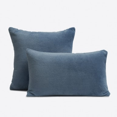 Funda de cojín - Basic Azul