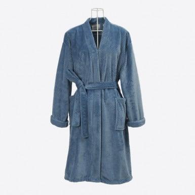 Housecoat - Basic Azul