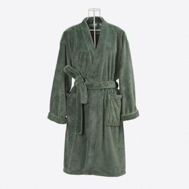 Housecoat - Basic Verde