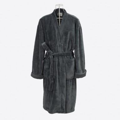 Housecoat - Basic Gris Oscuro