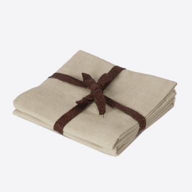 Cotton Set 2 napkins - Basic