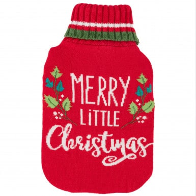 Hot water bag - Merry Xmas