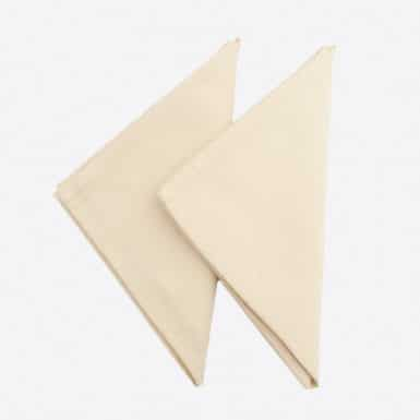 Cotton Set 2 napkins - Granite