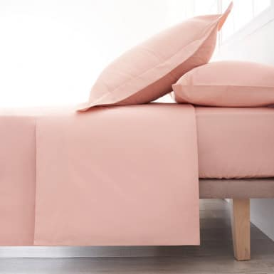 Cotton Flat Sheet - Basic Nude