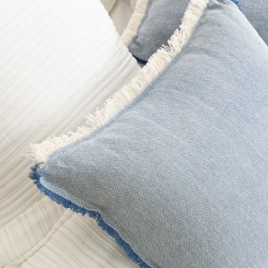 Cushion Cover - Flecos Azul