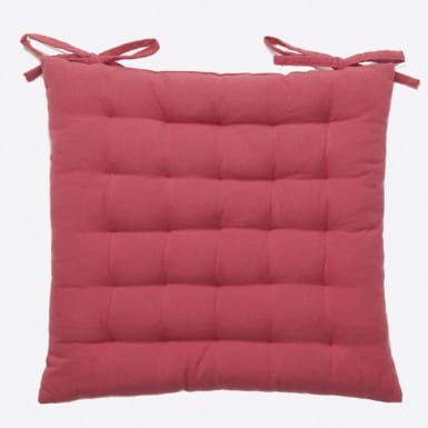 Chair Cushion - Basic Granate
