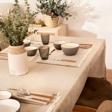 Rustic Tablecloth - Pals