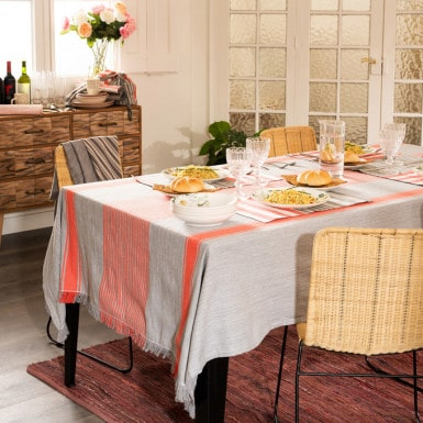 Rustic Tablecloth - Margot