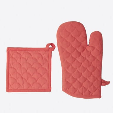 Set glove y pot holder -...
