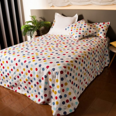 Cotton Sheet Set 3 pcs - Topos