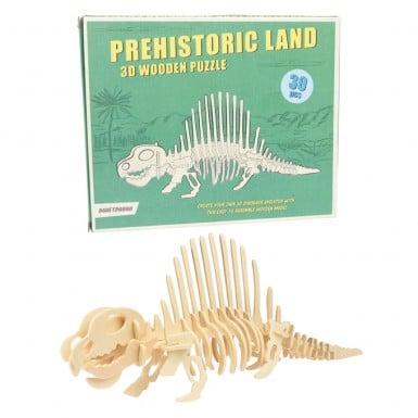 Puzzle - 3D Dimetrodon