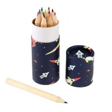 Pencil Case - Sapce Age