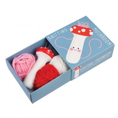 Kit - Knitting Mushroom