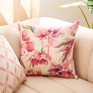 Cushion cover - Peonias