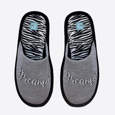 Slippers - Zebra