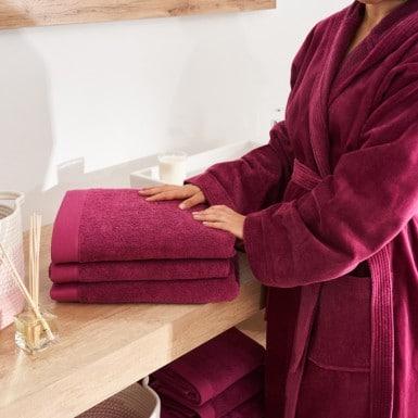 Bath Towel - Combed Cotton...