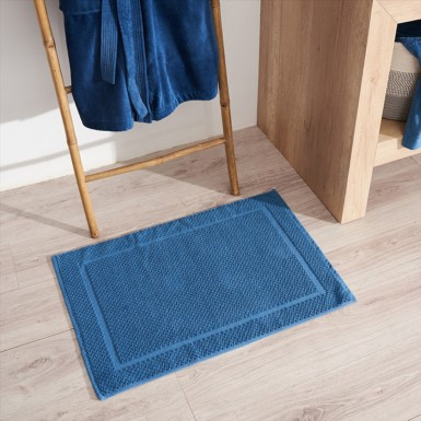 Bath Rug - Basic LM Azul