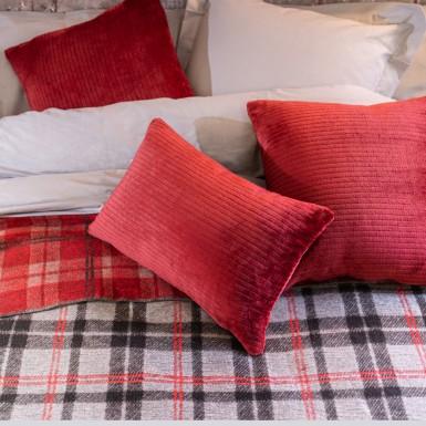 Cushion cover - Basic burgundy
