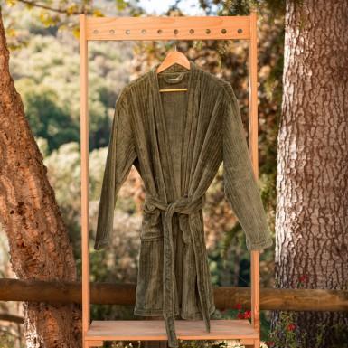 Housecoat - Basic olive