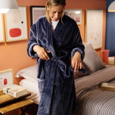 Housecoat - Basic indigo