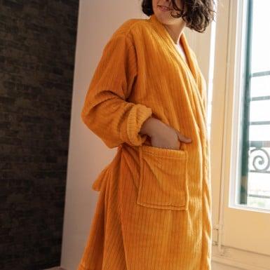Housecoat - Basic golden