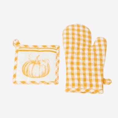 Set glove y pot holder -...