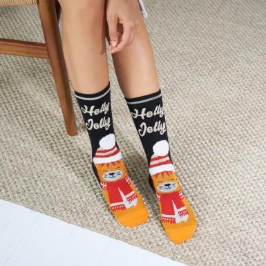 Antislip socks in gift box...