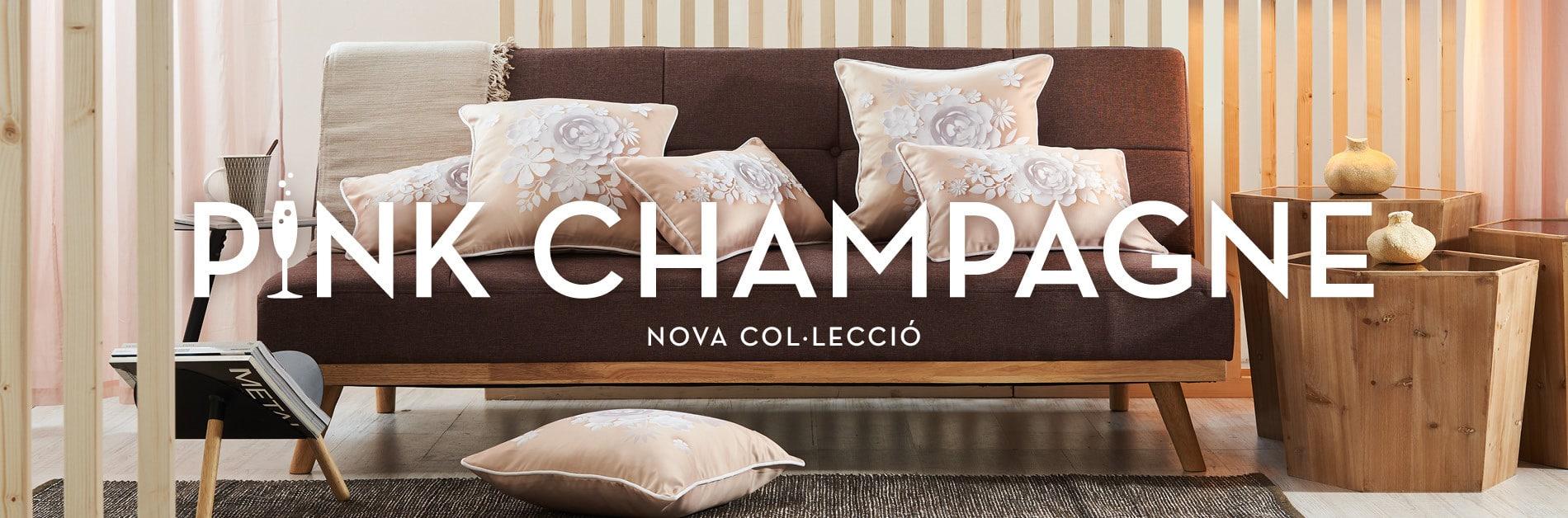 NOVA COL·LECCIÓ DECORACIÓ PINK CHAMPAGNE
