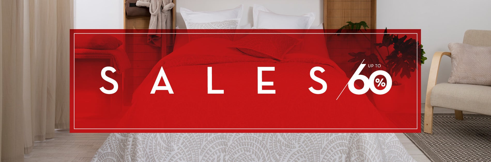 SALES - UP TO 60% OFF